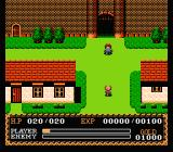 Ys: The Vanished Omens NES The initial town