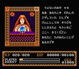 Ys: The Vanished Omens NES Talking to people inside houses