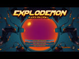 Explodemon! Windows Title screen