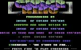 Cyber Wing Commodore 64 Title Screen