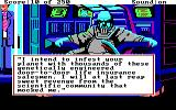 Space Quest II: Chapter II - Vohaul's Revenge DOS The evil Vohaul tells you about his sinister plan!..