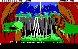 Space Quest II: Chapter II - Vohaul's Revenge DOS You'll need to carefully swing the rope, trying not to get eaten by this monster!