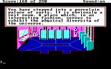 Space Quest II: Chapter II - Vohaul's Revenge DOS Visiting a toilet on Vohaul's asteroid. Nice description!
