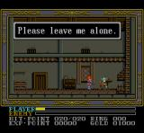 Ys III: Wanderers from Ys SNES Okay, okay, just calm down, chief...