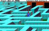 Leisure Suit Larry III: Passionate Patti in Pursuit of the Pulsating Pectorals DOS A maze of lockers! Larry looks nice in those sweats, doesn't he?..