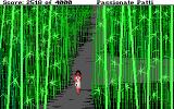 Leisure Suit Larry III: Passionate Patti in Pursuit of the Pulsating Pectorals DOS Patti is trying to find her way through the bamboo maze. Nice dress, by the way!..