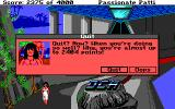 Leisure Suit Larry III: Passionate Patti in Pursuit of the Pulsating Pectorals DOS Such messages appear when you attempt to quit the game