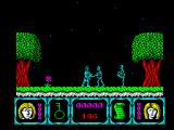 Deadly Evil ZX Spectrum Enemies to kill
