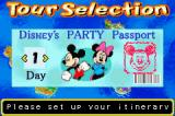 Disney's Party Game Boy Advance Tour Selection