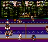 Kunio-kun no Dodge Ball da yo: Zenin Shūgo SNES USA.
