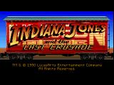 Indiana Jones and the Last Crusade: The Graphic Adventure FM Towns Title screen