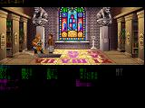 Indiana Jones and The Last Crusade: The Graphic Adventure FM Towns Library vandalism (Japanese mode)