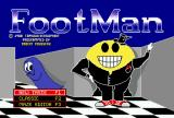 FootMan Amiga Title screen