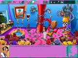 Leisure Suit Larry 6: Shape Up or Slip Out! DOS Environments are colorful and delightfully detailed, especially in this upgraded CD release (high-resolution CD version)