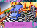 Leisure Suit Larry 6: Shape Up or Slip Out! DOS So much trouble just for washing your hands?.. (high-resolution CD version)