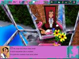 Leisure Suit Larry 6: Shape Up or Slip Out! DOS A plumber is fixing your sink (high-resolution CD version)