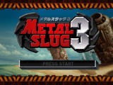 Metal Slug 3 Windows Title screen