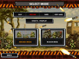 Metal Slug 3 Windows Game mode and difficulty level selection screen