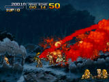 Metal Slug 3 Windows In the second mission you can be turned into a zombie. This red stream of blood replaces your grenade attack.