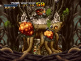 Metal Slug 3 Windows Destroying an alien device.