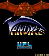 Vandyke Arcade Title screen