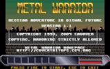 Metal Warrior: Hessian Adventure in Dismal Future (Amiga