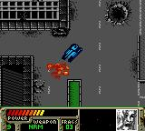 World Destruction League: Thunder Tanks Game Boy Color An enemy tank was destroyed.