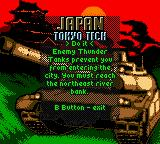 World Destruction League: Thunder Tanks Game Boy Color Japan!