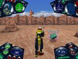 Cosmowarrior Zero PlayStation Defeating enemies and blowing up stuff uncover items
