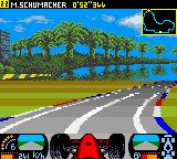 F1 Racing Championship Game Boy Color View - In.