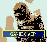 F1 Racing Championship Game Boy Color Game over.