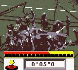 F1 Racing Championship Game Boy Color Pit stop.