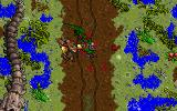 Ultima VII: The Black Gate DOS Sewer region with interesting fossils. Fighting some angry crocodiles