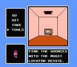 The Goonies II NES Valuable hints...