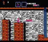 The Goonies II NES Hopping on platforms