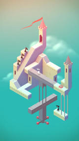 Monument Valley iPhone Example of a level
