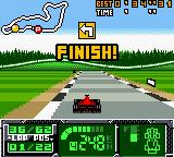 F1 World Grand Prix II for Game Boy Color Game Boy Color Finish!