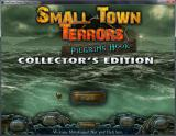 Small Town Terrors: Pilgrim's Hook (Collector's Edition) Windows Title screen and main menu (Windowed)