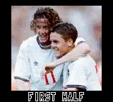 UEFA 2000 Game Boy Color First half. Photo: Steve McManaman and Michael Owen.