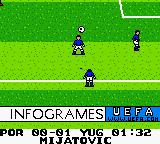 UEFA 2000 Game Boy Color Throw in.
