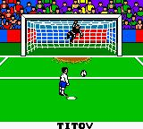 UEFA 2000 Game Boy Color PK. Titov (Russia) vs... can't remember now.