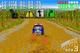 Colin McRae Rally 2.0 Game Boy Advance The road surface has changed