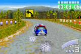 Colin McRae Rally 2.0 Game Boy Advance Taking a bend