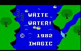 White Water! Intellivision Title screen