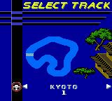 Test Drive 6 Game Boy Color Single race. Select track.