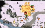 Command & Conquer: Red Alert DOS Soviet YAK fighters clearing enemy lines a bit.
