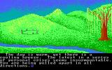 Ultima IV: Quest of the Avatar DOS Intro: taking a stroll one day, you discover something...