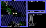 Ultima IV: Quest of the Avatar DOS Early in the game - you are lonely, penniless, and weak. But look, nearby is a town, and in front of you is a moongate!..