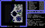Ultima IV: Quest of the Avatar DOS Magic gems are very helpful, showing you a rough map of the surroundings