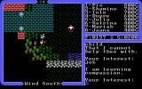 Ultima IV: Quest of the Avatar DOS Talking to some kids in one of the game's several regularly-sized towns. They all look pretty much alike. Both towns and kids, I mean